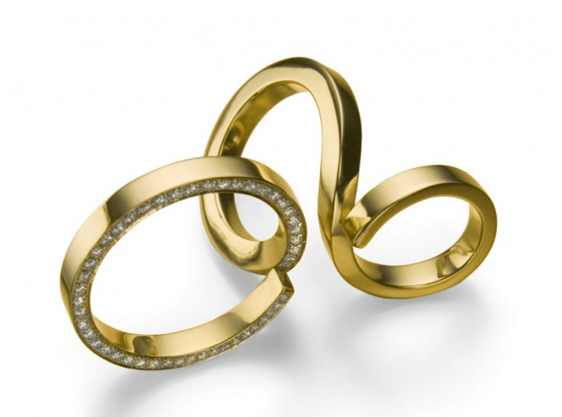 mccaul 18 carat forged gold pave diamond ring Discover: Sophisticated and Exceptional Cocktail Rings from Fine jewellers McCaul Goldsmiths - EAT LOVE SAVOR International luxury lifestyle magazine and bookazines